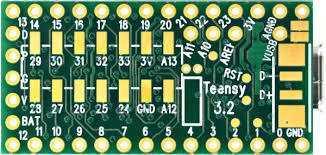 Ein Teensy 3.2 ist für Maker/IoT-Projekte gut bestückt