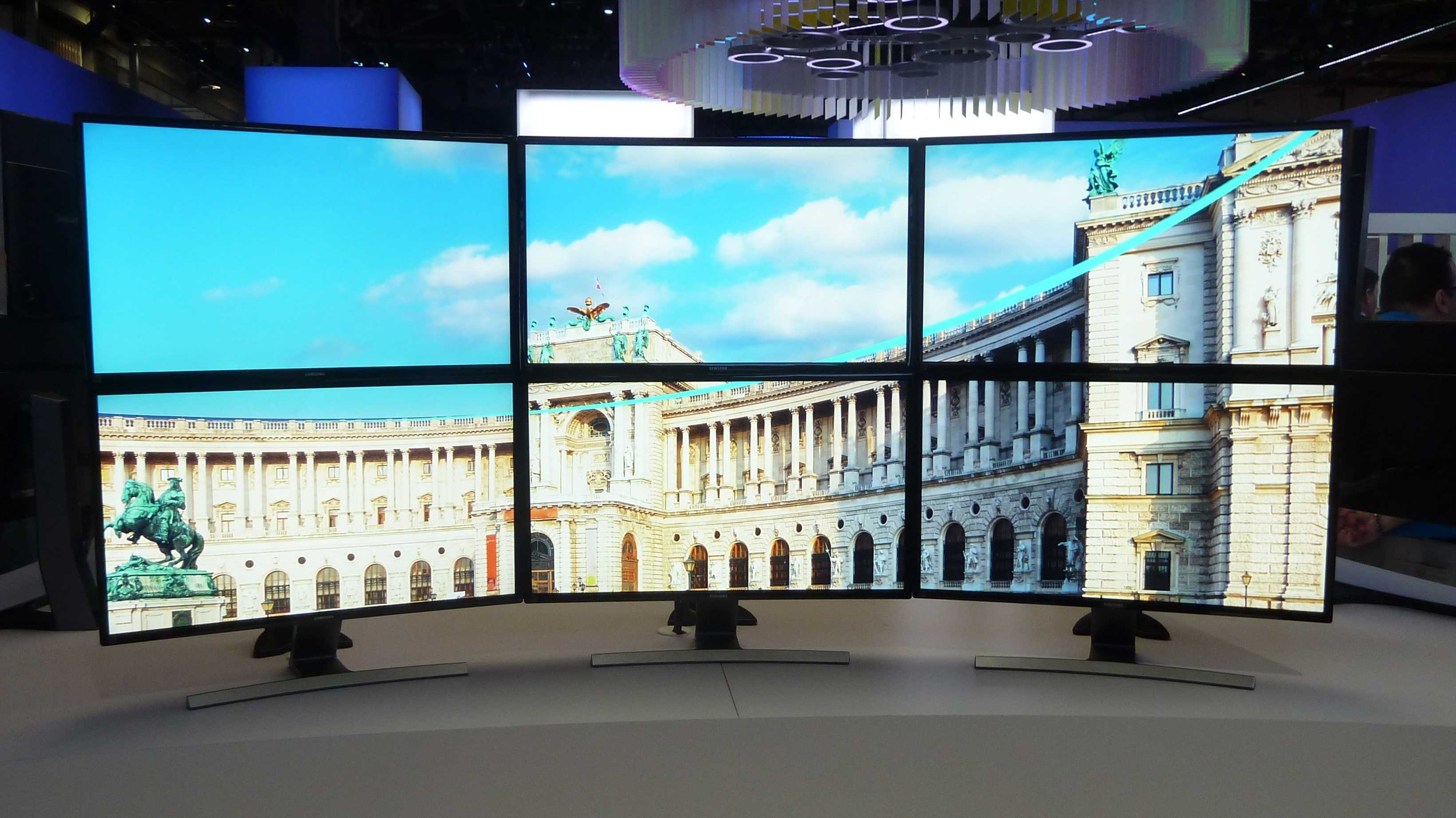 CES: Alle kommenden 4K-Monitore von Samsung sind dank FreeSync gegen Ruckeln und Tearing gefeit