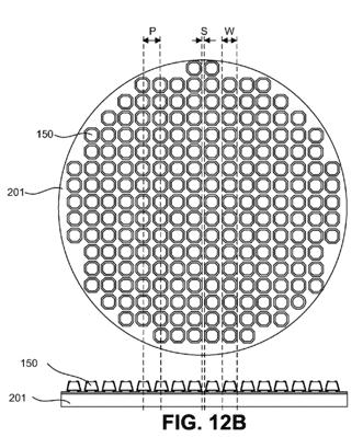 Auszug aus einem LuxVue-Patentantrag.
