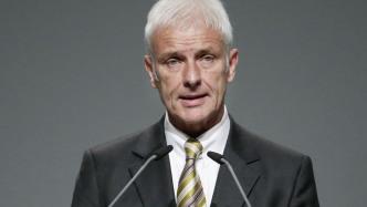 Volkswagen Vorstandsvorsitzender Matthias Müller