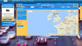 EU-Routenplaner berechnet Verbrauch und CO2