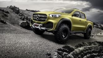 Studie: Mercedes-Benz Concept X-Class