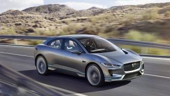 Die Studie Jaguar I-Pace 2017