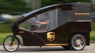 UPS: Emissionsfreie Paketlieferung in München