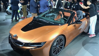 Der neue BMW i8 Roadster