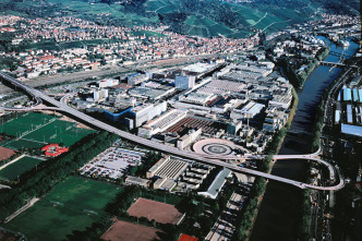 Mercedes-Werk in Untertürkheim