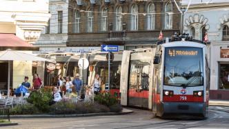 Trambahn in Wien