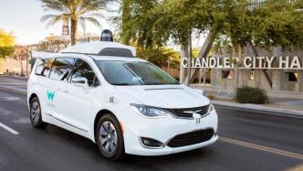 Waymo autonomes Auto