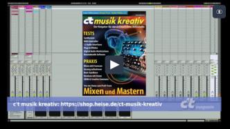 Mixen und Mastern: Der Weg zum Profi-Track