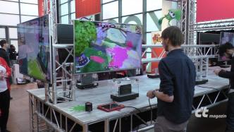 Spielkonsole Nintendo Switch im ersten Einsatz