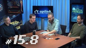 c't uplink 15.7: Trouble mit USB-C, Internet im Flugzeug und Sci-Fi-Smartphone Xiaomi Mi Mix