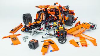 """Der Lego-Porsche """"Fun-Test"""" in Slow-Motion"""