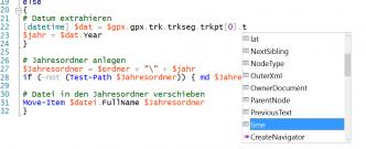 XML-Intellisense in der ISE