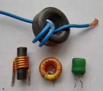 Induktoren gibt es ebenfalls in zahlreichen Varianten