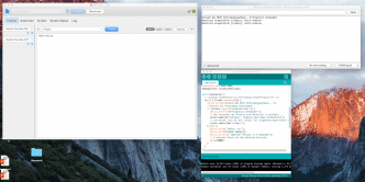 MQTT.fx, Arduino, und Mosquitto in Aktion