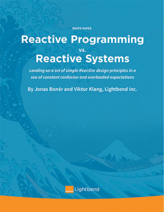 Reactive Programming versus Reactive Systems