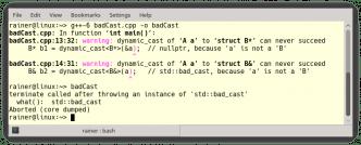 C++ Core Guidelines: Zugriff auf Objekte in Klassenhierarchien