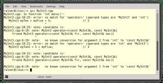 C++ Core Guidelines: Überladen von Funktionen und Operatoren