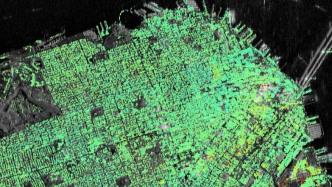 ESA-Satelliten bestätigen Absenkung eines Wolkenkratzers in San Francisco