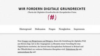 Sascha Lobo, Juli Zeh und mehr Prominente setzen EU-Digitalcharta auf
