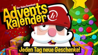 Gratis-Vollversionen: 24 Geschenke im Adventskalender von heise  Download
