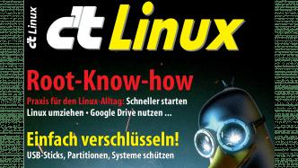 c't Linux 2017 jetzt im Zeitschriftenhandel