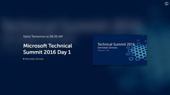 Live: Microsoft überträgt einige Vorträge des Technical Summit