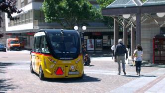 CeBIT 2017: Autonomer Postbus aus der Schweiz kommt nach Hannover