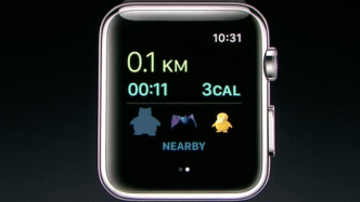 Pokekom Go auf Apple Watch