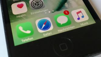 Nachrichten-App in iOS