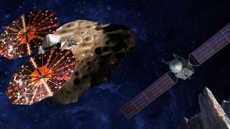 NASA-Sonden sollen Metall-Asteroiden und Jupiter-Trojaner erkunden