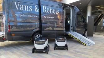 Zustellkonzepte mit Vans, Drohnen und Robotern