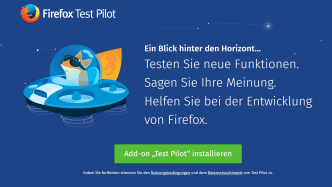"""Firefox Test Pilot"": Deutsche Version startet"