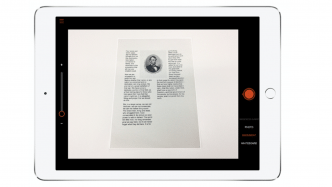 Office Lens für das iPad
