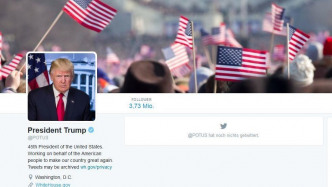 Twitter-Account @POTUS gehört jetzt Trump