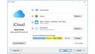 iCloud für Windows: Fehlerbehebungen und geschlossene Sicherheitslücken