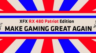 Make Gaming Great Again: Patriotische Trump-Grafikkarten von XFX
