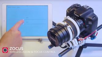 Aus dem 3D-Drucker: Kamera-Fernbedienungs-Modul Zocus hilft körperlich eingeschränkte Personen beim Fotografieren