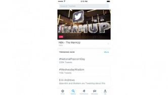 """iOS: Twitter-App bekommt neuen """"Entdecken""""-Knopf"""