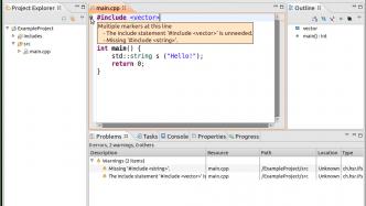 C++: Cevelop 1.6 umfasst Includator-Tool