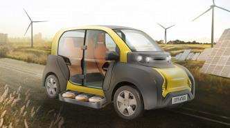 Elektroauto City E-Taxi: Leichtgewicht soll die Innenstädte erobern