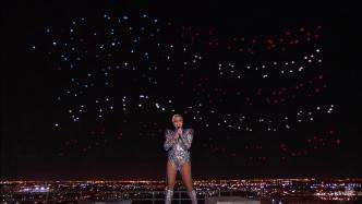 Lady Gagas Super-Bowl-Auftritt: 300 Drohnen für Lichtshow