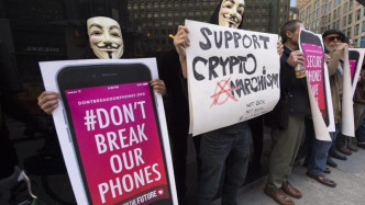 Apple iPhone Protest