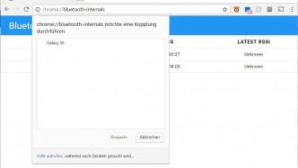 Hintergrund: Ist Bluetooth im Browser ein Sicherheitsrisiko?