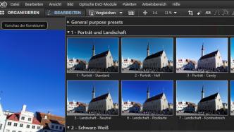Kostenlose Lizenz für DxO OpticsPro 9