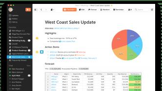 Salesforce-Integration und Projektmanagement für Quip
