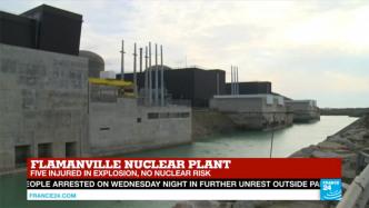 """Explosion in französischem Atomkraftwerk Flamanville – """"Keine atomare Gefahr"""""""