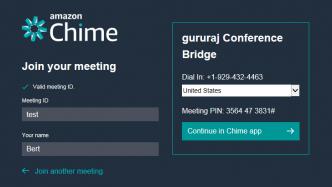 Amazon will mit Chime bei Online-Konferenzen mitmischen