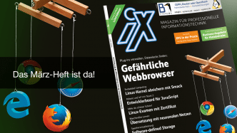 iX 3/2017: Gefährliche Browser-Erweiterungen