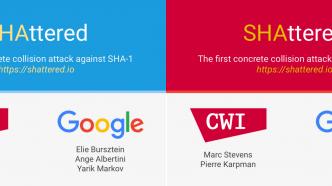 Forscher zerschmettern SHA-1